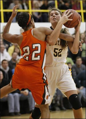 Northview senior Jessica Jessing, who will play at Western Michigan, is averaging 13.8 points and 8.6 rebounds.