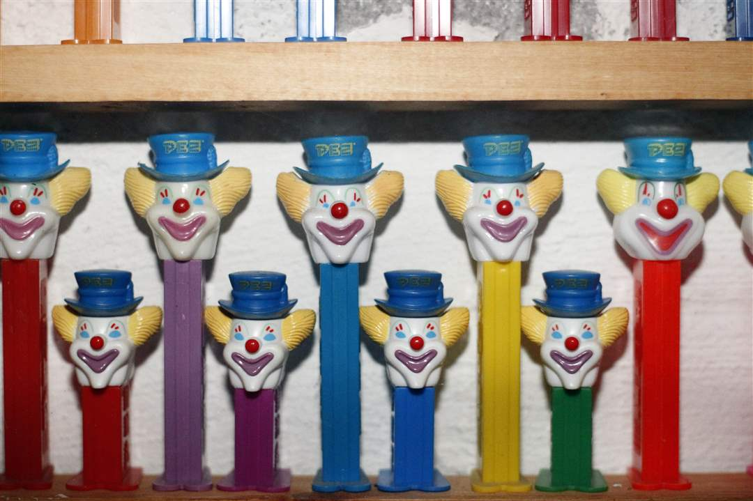 Collect-Call-Peffley-Pez-clowns