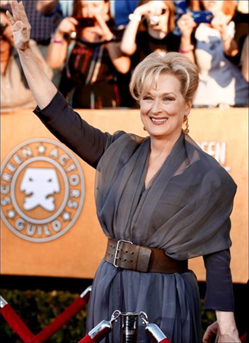 Meryl Streep at the SAG Awards