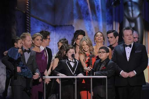 SAG-Awards-Show-Modern-family-best-comedy