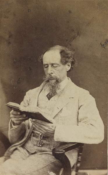 Charles-Dickens-shown-in-1863-remains-best-known-perhaps-for-A-Christmas-Carol