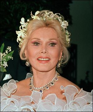 Actress Zsa Zsa Gabor will celebrated her 95th birthday behind closed doors Monday.