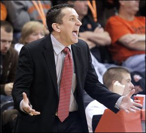 Bowling Green women's basketball coach Curt Miller learned he had suffered a mild stroke on Jan. 22 during his team's game against Eastern Michigan.