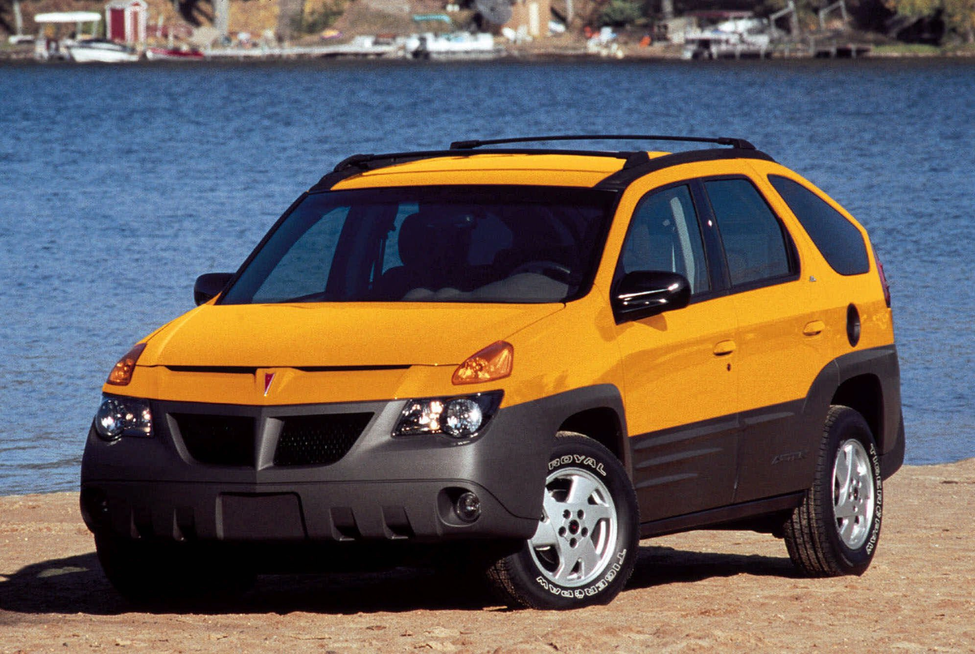 pontiac aztek gets top honors as the worst vehicle ever sold the blade. Black Bedroom Furniture Sets. Home Design Ideas