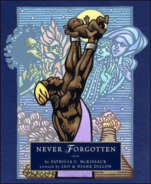 'Never Forgotten' is a series of free verse poems and an Honor Book.