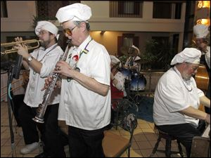 The Chefs of Dixieland perform.