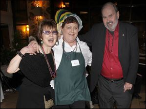 From left: Sharon Simmons, Helen Bensch and Ron Coffman.