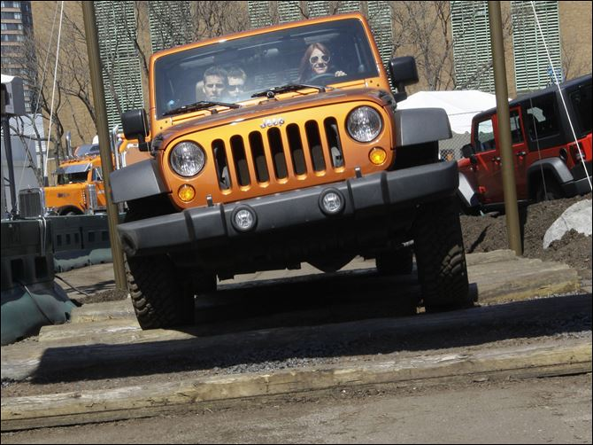 The Jeep Wrangler's off-road capability drew praise The Jeep Wrangler's off-road capability drew praise from Consumer Reports' testers, but it received bad marks for fit and finish, driving position, comfort, ride, braking, and fuel economy.