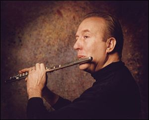 Flutist William Bennett comes to the University of Toledo for a residency March 12-13.