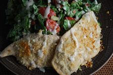 Skinny-Baked-Chicken-With-Chopped-BLT-Salad