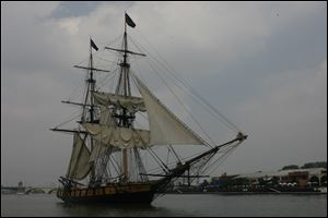 The Brig Niagara will travel all five of the Great Lakes and make stops in Ohio, Michigan, and Pennsylvania.