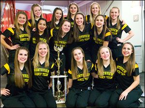 Northview dance team took second place in the Hip Hop division for its first time at the State Championships.