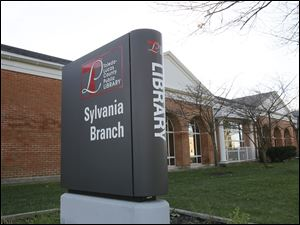The Sylvania branch's location at 6749 Monroe St. plays a role in keeping the site busy, said a library official.