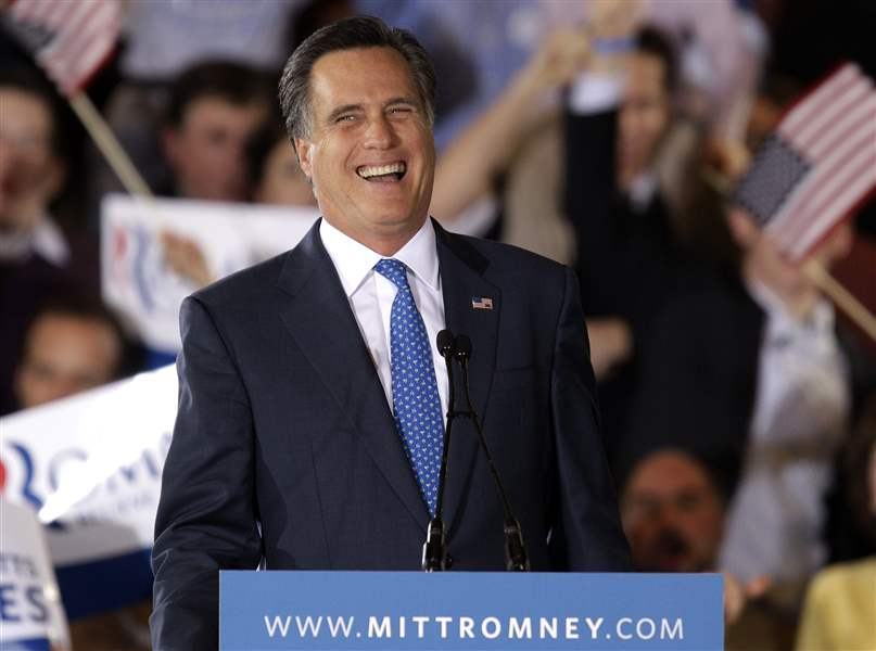 APTOPIX-Romney-Super-Tuesday