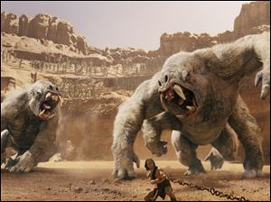 Taylor Kitsch plays the title character in 'John Carter'