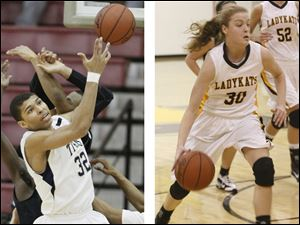St. John's Jesuit's Marc Loving and Northview's Miriam Justinger earned District I honors.
