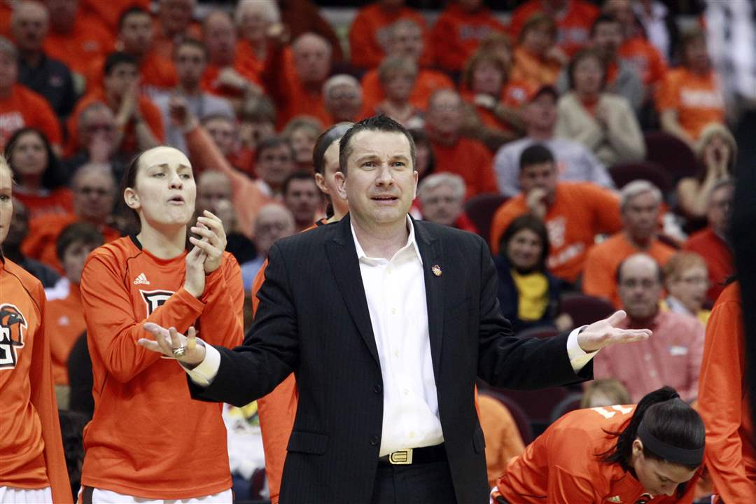 Bowling-Green-coach-Curt-Miller-reacts-to-loss