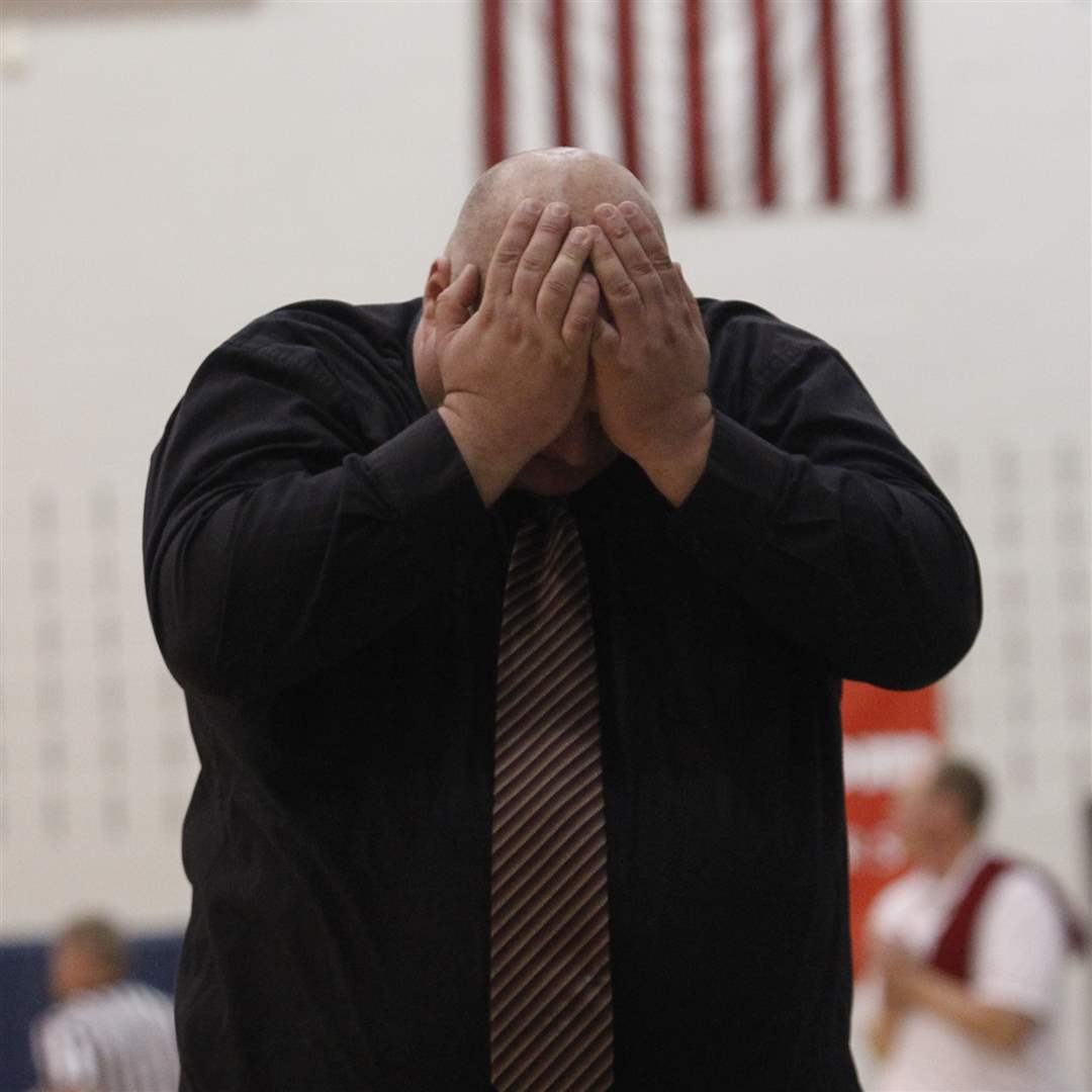 Notre-Dame-s-Travis-Galloway-reacts-to-his-team-fouling-against-Wadsworth