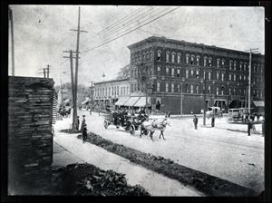 The brick structure was built in 1881 by Swiss immigrant and Toledo grocer Alex Weber and was originally called the Lagrange Hotel.