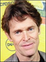 Actor Willem Dafoe.
