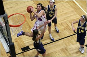 Liberty-Benton's Cait Craft, Ohio's Division III player of the year, averages 21.4 points, 6.7 rebounds. The Eagles have reached the state semifinals for the third time in her career.