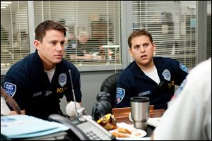 Channing Tatum, left, and Jonah Hill star as Jenko and Schmidt in '21 Jump Street.'