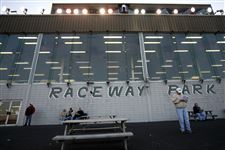 Harness-racing-betters-watch-the-races-outside-of-Raceway-Park