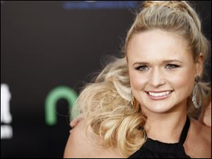 "Miranda Lambert arrives at the world premiere of ""The Hunger Games"" in Los Angeles."