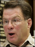 Tom Skeldon, Lucas County warden from 1987 to 2010, says he was enforcing the law.