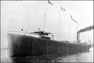 The C.B. Lockwood sank in October, 1902, and its exact location just east of Cleveland has been known ever since. But shipwreck hunters were baffled because the wreck wasn't there. Researchers say that the ship is under the lake bottom.