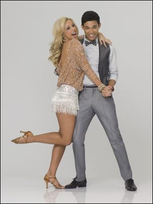 Roshon Fegan and Chelsie Hightower performed on season 14 of 'Dancing with the Stars.'