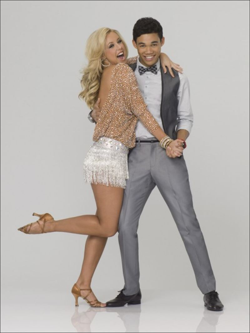 ... ' actor s... Roshon Fegan Dancing With The Stars