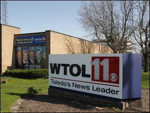 The WTOL building in Toledo. The CBS affiliate has bought former local rival WUPW Channel 36.