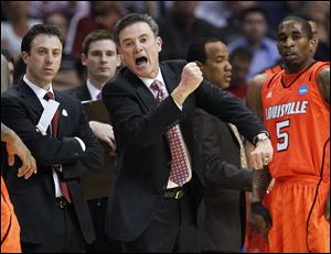 Louisville coach Rick Pitino knows the Cardinals-Wildcats rivalry well. He coached Kentucky for eight years and is in his 11th year as coach for Louisville. He led the Wildcats to a national title in 1996.