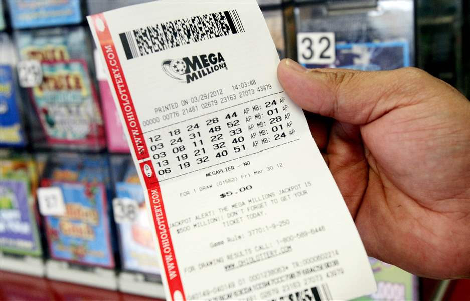 Mega Millions $540M prize feeds fortune of dreams and ... Winning Lottery Ticket Mega Millions