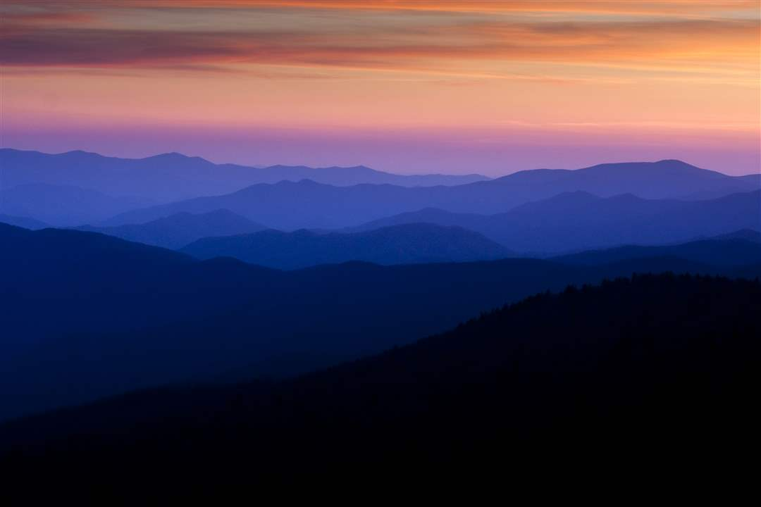 Smoky-Mountains-sunset-Clingman
