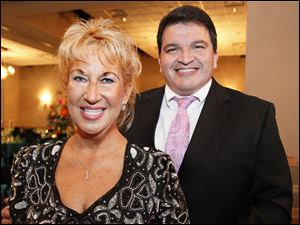 Deb and Rey Nevarez, who is a presenting sponsor and the administrator of Orchard Villa.