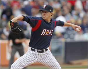 Adam Wilk was 8-6 with a 3.24 ERA in 18 starts for the Hens in 2011. He walked just 14 in 102⅔ innings.