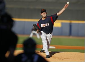 Duane Below, who grew up in Britton, Mich., was 9-4 with a 3.13 ERA in 18 starts for the Hens in 2011. He also pitched in 14 games for the Tigers, including two starts.