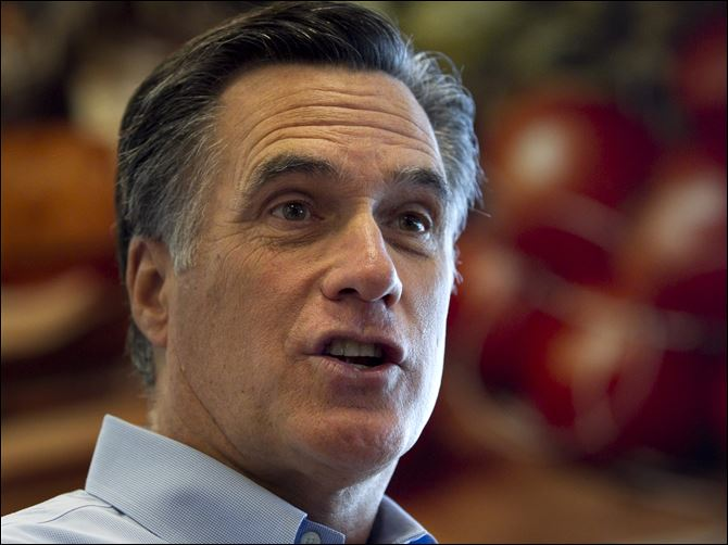 Romney hits the trifecta  in primaries Becoming more entrenched as front-runner, Mitt Romney in Milwaukee focuses his attention to November and President Obama.