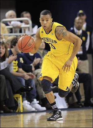 Trey Burke, a 5-foot-11 point guard, averaged a team-high 14.8 points per game in his freshman season.