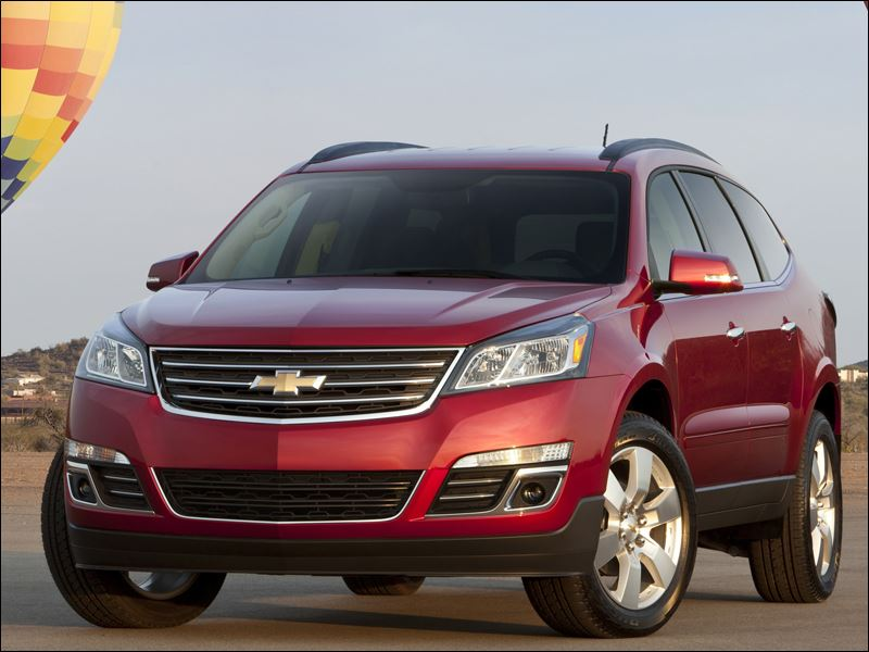 2012 chevrolet traverse. Cars Review. Best American Auto & Cars Review