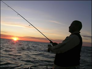 Lake Erie fishing captains fear if too much water is withdrawn from Lake Erie's tributaries, at a pace that is quicker than it can be replenished, algal blooms that already have hurt the industry will increase.