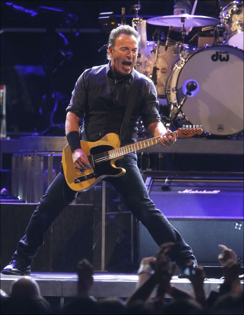 Springsteen And The E Street Band Rock The Palace Of Auburn Hills Thursday Toledo Blade