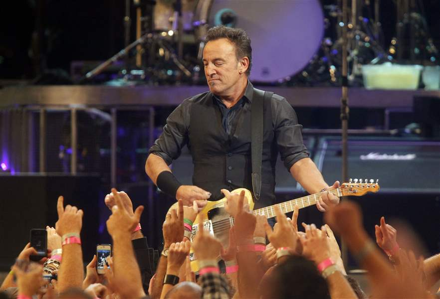 Springsteen And The E Street Band Rock The Palace Of Auburn Hills Thursday The Blade
