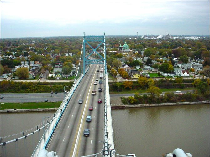The 81-year-old structure over the Maumee River is to undergo a $50 million overhaul. It is the last suspension bridge on Ohio's state highway network.