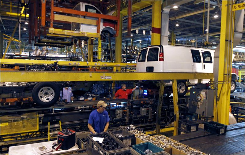 Materials parts dearth worry auto industry toledo blade for General motors parts department