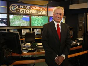 Stan Stachak is retiring after 30 years of forecasting the Toledo area's weather for WTVG-TV, Channel 13.