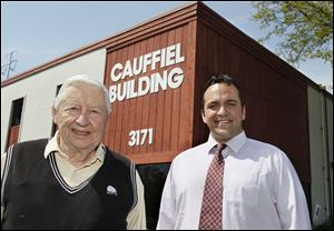 Ford Cauffiel, founder of Cauffiel Technologies, soon to be Cauffiel Corp., will turn over the business to Ben McGilvery. But Mr. Cauffiel, 81, will stay on as a consultant and said he'll do anything he can to ensure the company's future success.