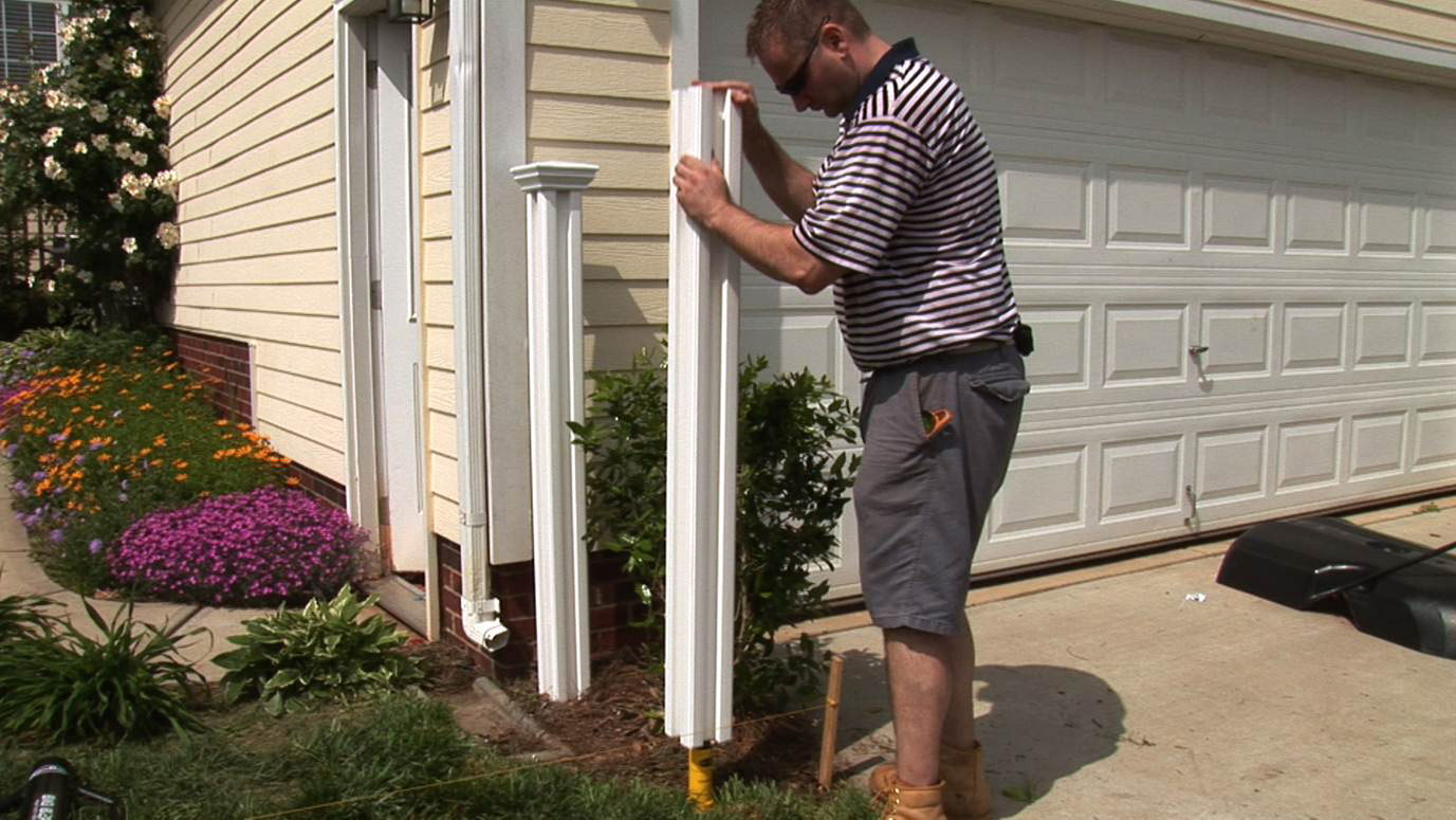Tips For Installing A Vinyl Fence The Easy Way The Blade